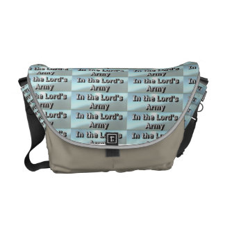 In the Lord's Army Bag Courier Bag