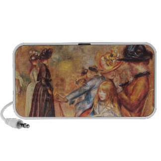 In the Luxembourg Gardens, 1883 iPhone Speaker