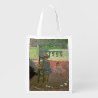 In the Luxembourg Gardens Reusable Grocery Bags