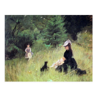 In the Meadow by Berthe Morisot Postcard