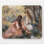 In the Meadow by Pierre-Auguste Renoir Mouse Pad