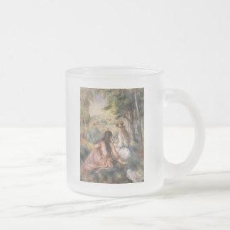 In the Meadow by Pierre-Auguste Renoir Coffee Mugs