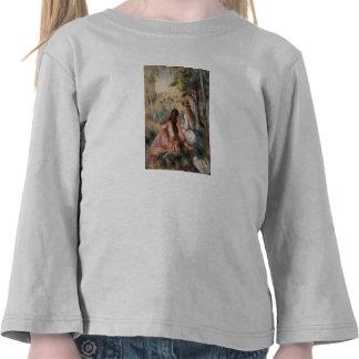 In the Meadow by Pierre-Auguste Renoir T Shirt