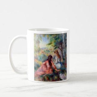 In the meadow by Pierre Renoir Coffee Mug