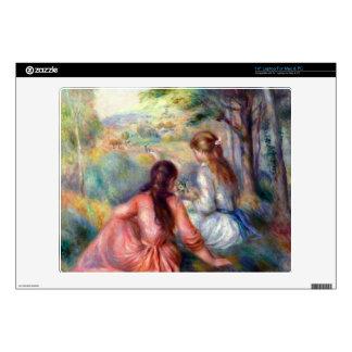 In the meadow by Pierre Renoir Laptop Skin
