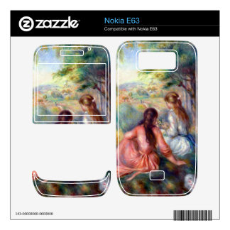 In the meadow by Pierre Renoir Nokia E63 Decals