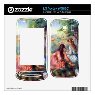 In the meadow by Pierre Renoir Skins For LG Vortex