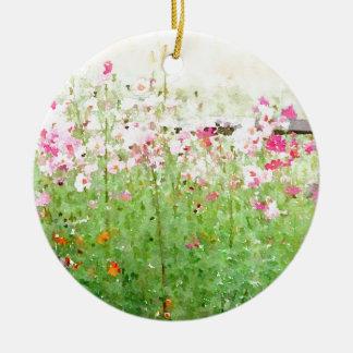 In the Meadow Ceramic Ornament