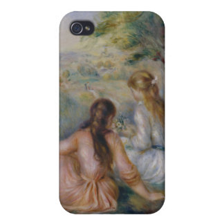 In the Meadow - Pierre-Auguste Renoir iPhone 4/4S Cover