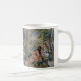 In the Meadow - Pierre-Auguste Renoir Mugs