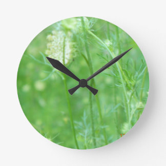 'In the Meadow' round clock