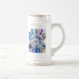 In the Middle custom designed stein
