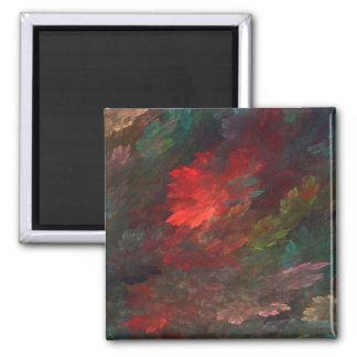In The Midst Of Things 2 Inch Square Magnet