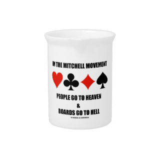 In The Mitchell Movement People Go To Heaven Hell Drink Pitcher