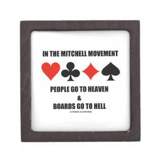 In The Mitchell Movement People Go To Heaven Hell Jewelry Box