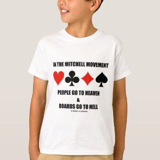 In The Mitchell Movement People Go To Heaven Hell T-Shirt
