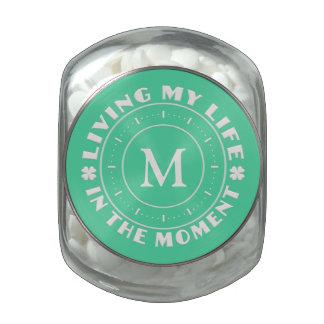 IN THE MOMENT custom jars & tins Glass Jar