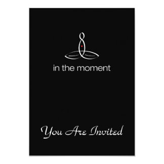In The Moment - White Regular style Card