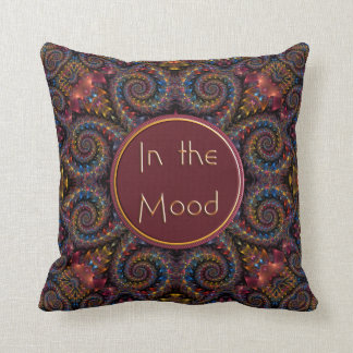 In the Mood Throw Pillow