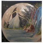 In the moon Napkin