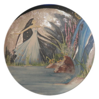 In the moon Plate