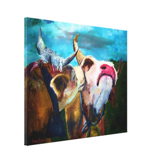 In the Mooooood Gallery Wrapped Canvas