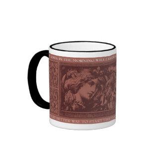 In the Morning - Rust Ringer Mug