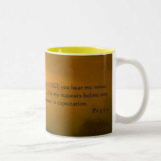 In the morning..... | Two-Tone coffee mug