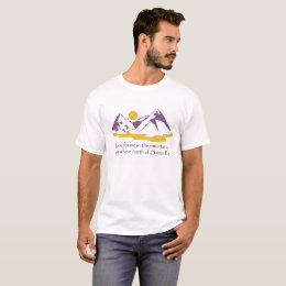 In The Mountains Men's Tee