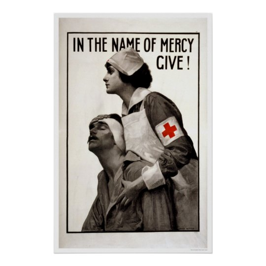 In the name of mercy give! poster