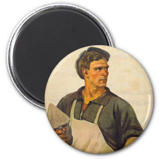 In the Name of Peace 2 Inch Round Magnet