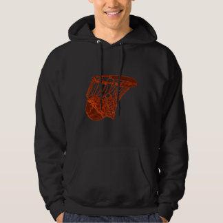 In the Net Basketball Hoodie