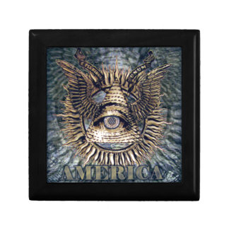 In The New God We Trust.png Keepsake Boxes