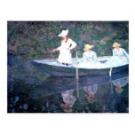 In the Norvegienne Boat at Giverny Postcards