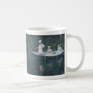 In the Norvegienne - Claude Monet Classic White Coffee Mug