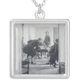 In the Old Raleigh Tavern Silver Plated Necklace