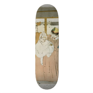 In the Omnibus by Mary Cassatt Skateboard