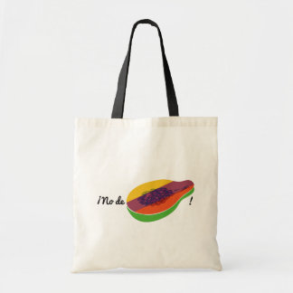 In the one of papaya! tote bag