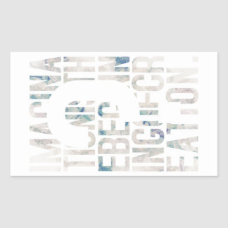 In the one which message characteristic art charac rectangle stickers