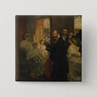 In the Opera House, 1862 Button