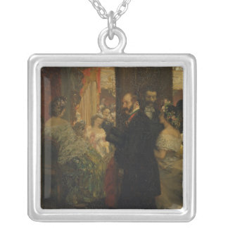 In the Opera House 1862 Personalized Necklace