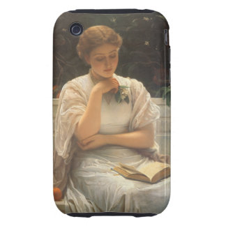 In the Orangery by Charles Edward Perugini iPhone 3 Tough Covers