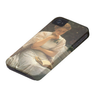 In the Orangery by Charles Edward Perugini iPhone 4 Case-Mate Case