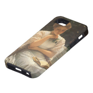 In the Orangery by Charles Edward Perugini iPhone SE/5/5s Case