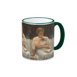 In the Orangery by Charles Edward Perugini Coffee Mugs
