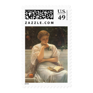 In the Orangery by Charles Edward Perugini Postage Stamp