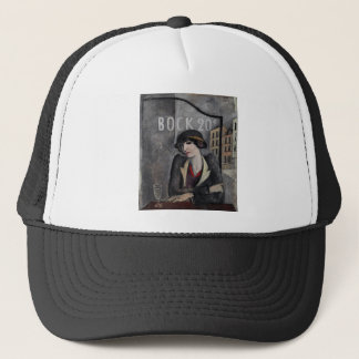 """""""In the Outskirts of Paris"""" Vintage Art Trucker Hat"""