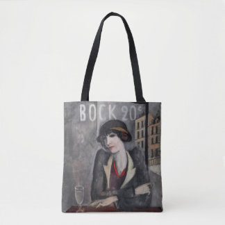 In the Outskirts of Paris Vintage Chic Tote Bag