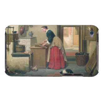 In the Pantry, 1868 (oil on panel) iPod Case-Mate Case