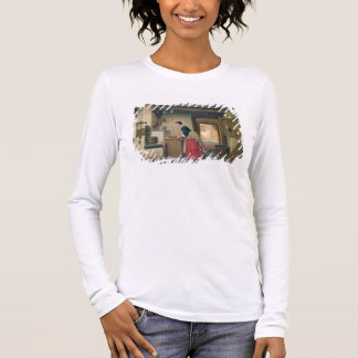 In the Pantry, 1868 (oil on panel) Long Sleeve T-Shirt